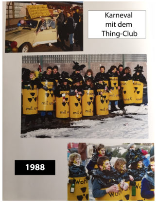 "Karnevalsumzug 1988 in Wirges ""Thing-Club"""